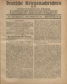 Deutsche Kriegsnachrichten (D.K.), Montag, 15. Juli 1918, Nr 255.