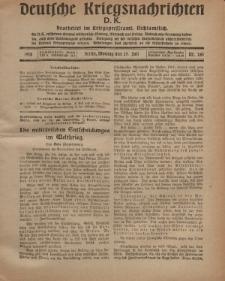Deutsche Kriegsnachrichten (D.K.), Montag, 29. Juli 1918, Nr 261.