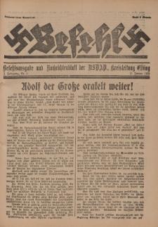 Befehl Nr. 3, 21. Januar 1933