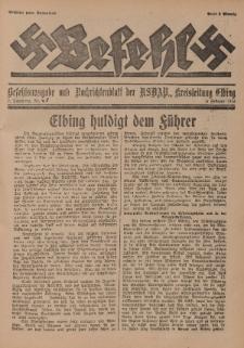 Befehl Nr. 5, 5. Februar 1933