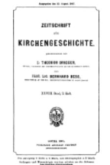 Zeitschrift für Kirchengeschichte, 1907, Bd. 28, H. 3.