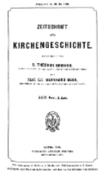 Zeitschrift für Kirchengeschichte, 1908, Bd. 29, H. 2.