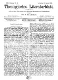 Theologisches Literaturblatt, 15. Januar 1892, Nr 2.