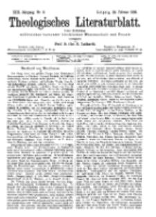Theologisches Literaturblatt, 26. Februar 1892, Nr 8.