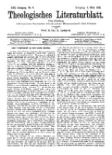 Theologisches Literaturblatt, 4. März 1892, Nr 9.