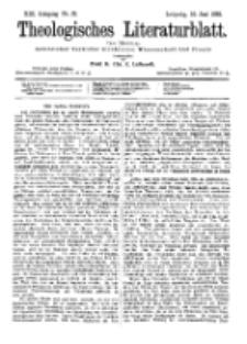 Theologisches Literaturblatt, 10. Juni 1892, Nr 23.