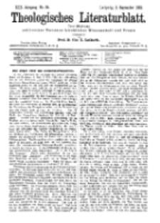 Theologisches Literaturblatt, 2. September 1892, Nr 35.