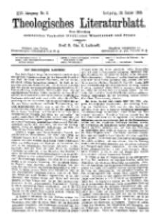 Theologisches Literaturblatt, 13. Januar 1893, Nr 2.
