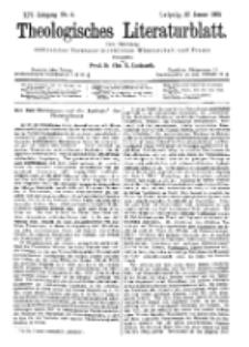 Theologisches Literaturblatt, 27. Januar 1893, Nr 4.