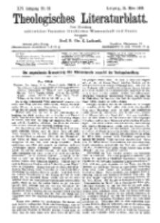 Theologisches Literaturblatt, 31. März 1893, Nr 13.