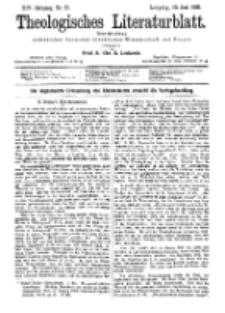 Theologisches Literaturblatt, 23. Juni 1893, Nr 25.