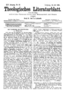 Theologisches Literaturblatt, 14. Juli 1893, Nr 28.