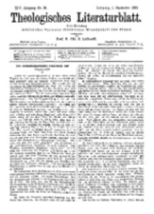 Theologisches Literaturblatt, 1. September 1893, Nr 35.