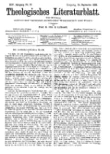 Theologisches Literaturblatt, 15. September 1893, Nr 37.