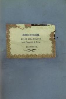 Rondo alla Polacca: pour Pianoforte & Viola