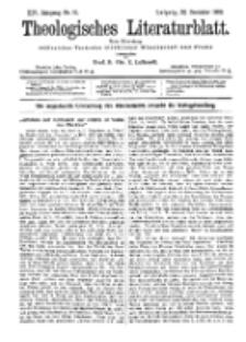 Theologisches Literaturblatt, 22. Dezember 1893, Nr 51.