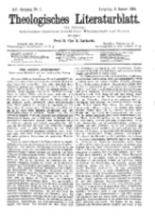 Theologisches Literaturblatt, 5. Januar 1894, Nr 1.