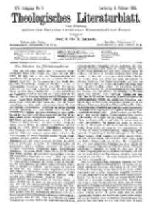Theologisches Literaturblatt, 2. Februar 1894, Nr 5.