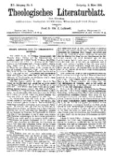 Theologisches Literaturblatt, 2. März 1894, Nr 9.