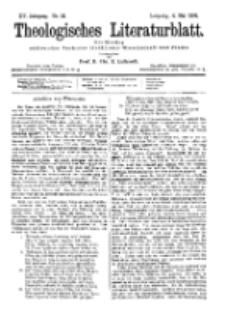 Theologisches Literaturblatt, 4. Mai 1894, Nr 18.
