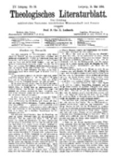 Theologisches Literaturblatt, 11. Mai 1894, Nr 19.