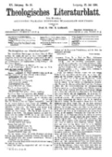 Theologisches Literaturblatt, 27. Juli 1894, Nr 30.