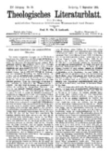 Theologisches Literaturblatt, 7. September 1894, Nr 36.