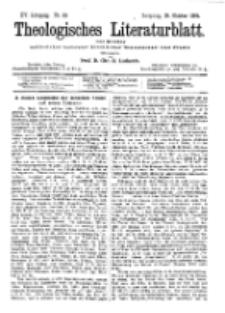 Theologisches Literaturblatt, 26. Oktober 1894, Nr 43.