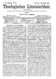 Theologisches Literaturblatt, 9. November 1894, Nr 45.