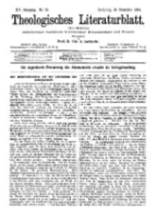 Theologisches Literaturblatt, 28. Dezember 1894, Nr 52.