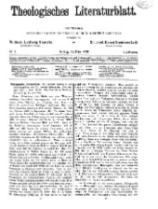 Theologisches Literaturblatt, 29. März 1929, Nr 7.