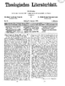 Theologisches Literaturblatt, 22. November 1929, Nr 24.