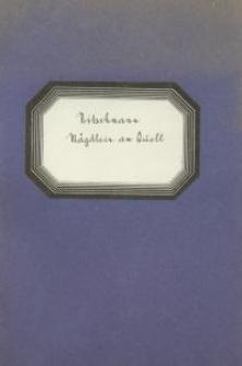 Mägdlein am Quell : Op. 8
