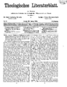 Theologisches Literaturblatt, 10. Oktober 1930, Nr 21.