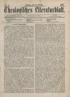 Theologisches Literaturblatt, 12. Februar 1886, Nr 5.