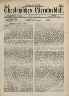 Theologisches Literaturblatt, 12. März 1886, Nr 9.