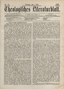 Theologisches Literaturblatt, 4. Juni 1886, Nr 21.