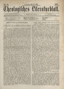 Theologisches Literaturblatt, 23. Juli 1886, Nr 29.