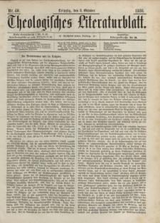 Theologisches Literaturblatt, 8. Oktober 1886, Nr 40.