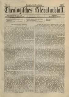 Theologisches Literaturblatt, 18. Februar 1887, Nr 7.