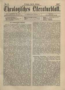 Theologisches Literaturblatt, 25. Februar 1887, Nr 8.