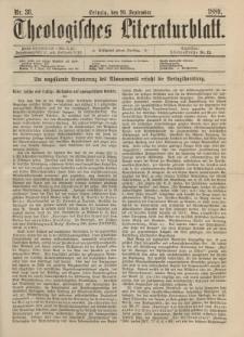 Theologisches Literaturblatt, 20. September 1889, Nr 38.
