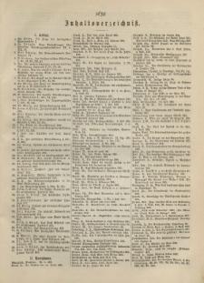Theologisches Literaturblatt, 1890 (Inhaltsverzeichniß)