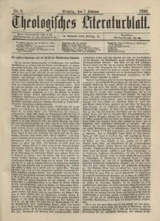 Theologisches Literaturblatt, 7. Februar 1890, Nr 6.