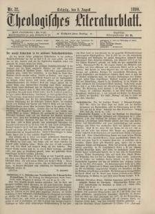 Theologisches Literaturblatt, 8. August 1890, Nr 32.