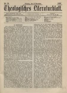 Theologisches Literaturblatt, 12. Dezember 1890, Nr 50.