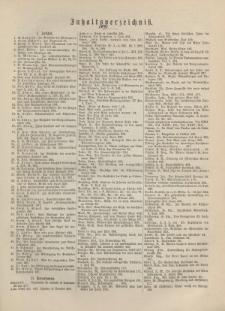 Theologisches Literaturblatt, 1891 (Inhaltsverzeichniß)