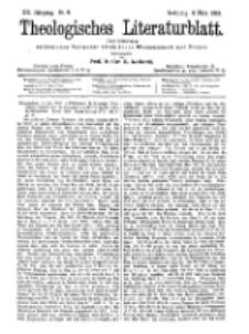 Theologisches Literaturblatt, 3. März 1899, Nr 9.