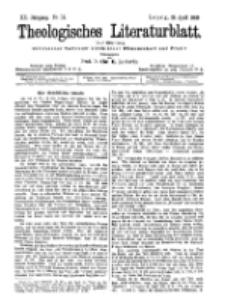 Theologisches Literaturblatt, 28. April 1899, Nr 17.