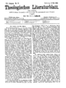 Theologisches Literaturblatt, 5. Mai 1899, Nr 18.